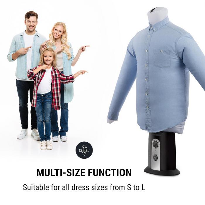 ShirtButler aautomatisk T-Shirt-Tork, 850 W, 2in1, upp till 65 °C