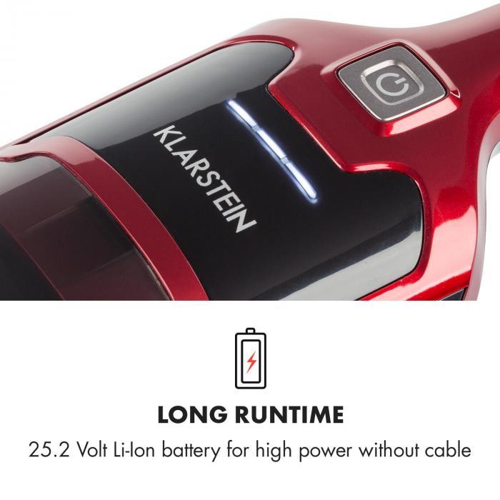 TurboHybrid Aspirapolvere da Pavimento e Portatile Rosso-Metallizzato