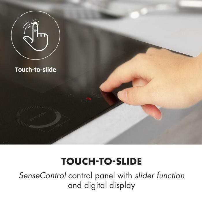Delicatessa 60 Built-in Hob Induction 4 Zones 7000W Glass Ceramic