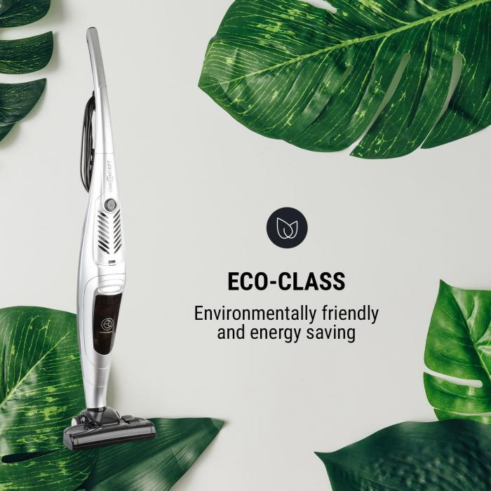 CleanTower Vacuum Cleaner 800W Cyclonic Filter Technology Silver