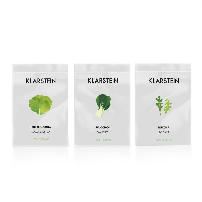 GrowIt Refill Kit lechuga esponja 28 macetas Salad-Seeds solución nutritiva