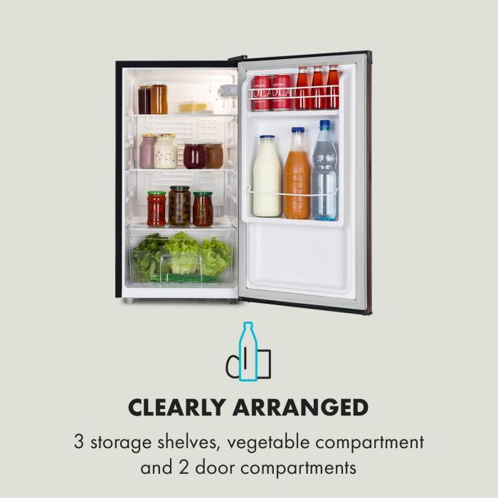 feldberg k hlschrank energieeffizienzklasse a volumen. Black Bedroom Furniture Sets. Home Design Ideas