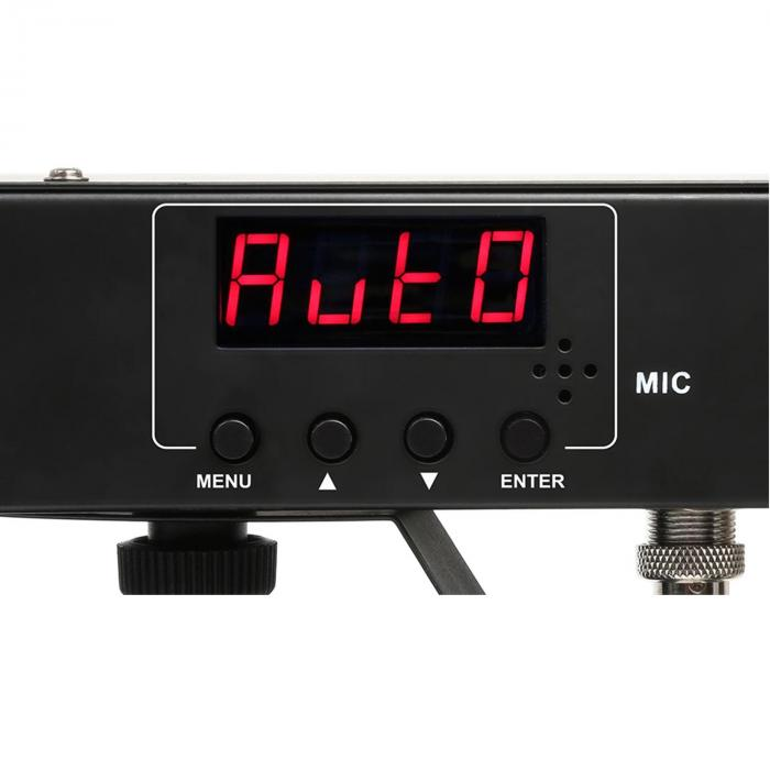 Partybar 3 Komplettlichtanlage 85W RGB DMX/Standalone Stativ schwarz