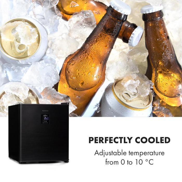 Beer Baron juomajäähdytin A+ 46 litraa 39dB 0-10 °C musta