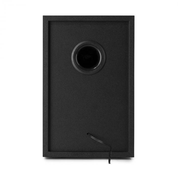 SM40 Studiomonitor-Lautsprecher-Set 100 Watt max. 2-Wege schwarz
