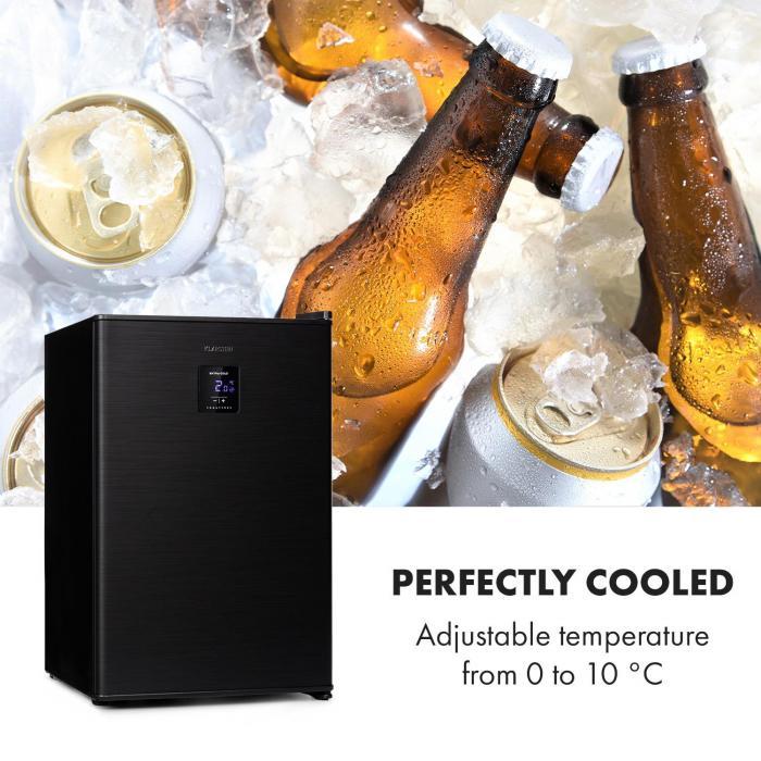 Beer Baron juomajäähdytin A+ 68 litraa 39dB 0-10 °C musta