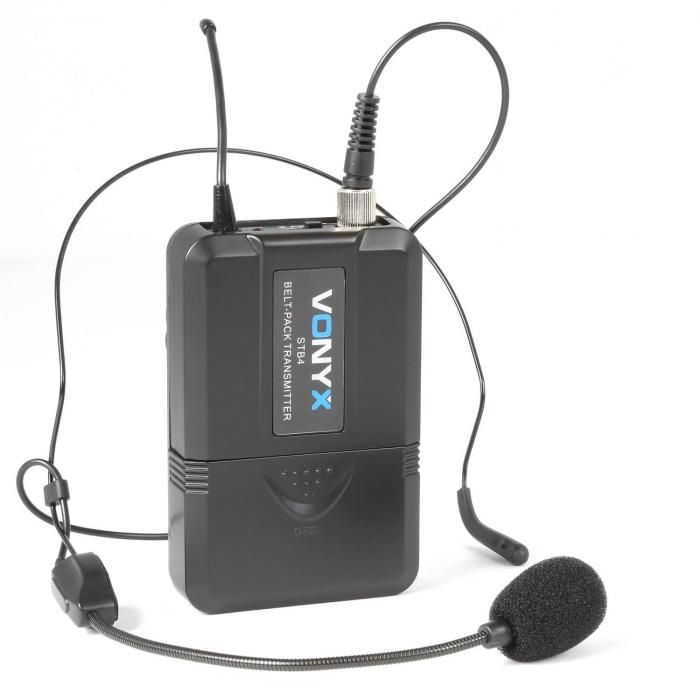 nbsp;WM73C Sistema radio UHF a 2 canali senza fili