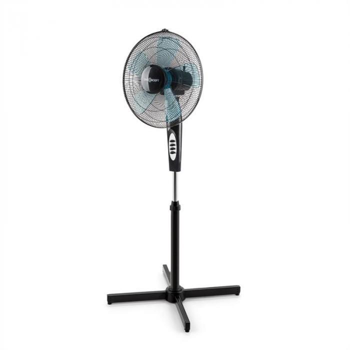 Black Blizzard 2G RC Ventilatore A Piantana Set da 3 41 cm 50 W Nero
