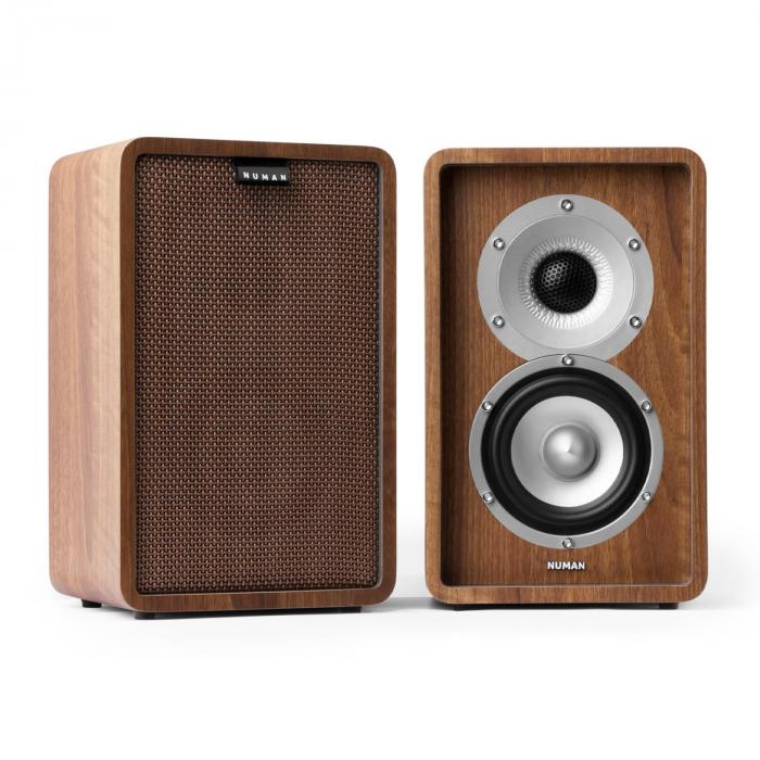 Retrospective 1977 MKII 5.1 Sound System Walnut incl. Cover Brown