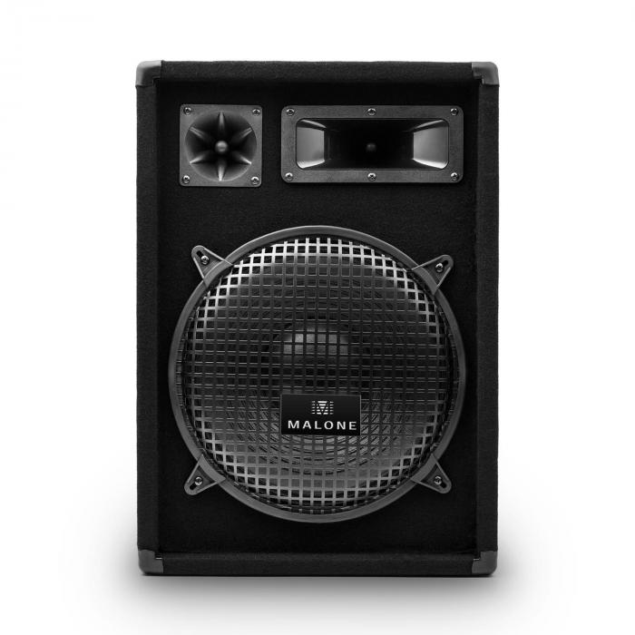 """Set Amplificatore e Casse Hi-Fi   Amplificatore 2x350W/2 Casse da 12"""" 300 W RMS"""