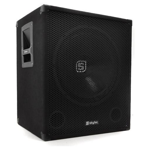 pa aktiv subwoofer set 2 x smwa15 bassbox 1200w 38cm. Black Bedroom Furniture Sets. Home Design Ideas