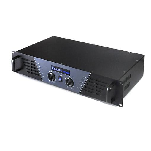 DJ PA Komplettset Verstärker Mixer Boxen Mikrofon
