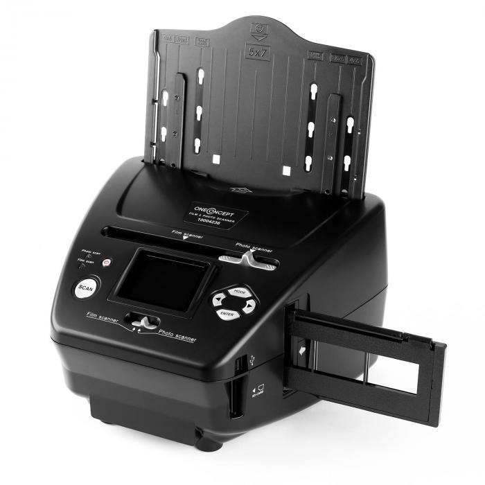 Combo Dia-Film-kuvaskanneri Klarstein 179B SD xD 5,1 MP