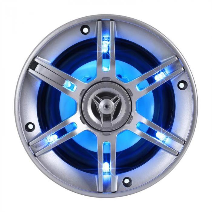 """auna Car """"BeatPilot FX-412 Hifi Lautsprecher-Verstärker-Set """""""