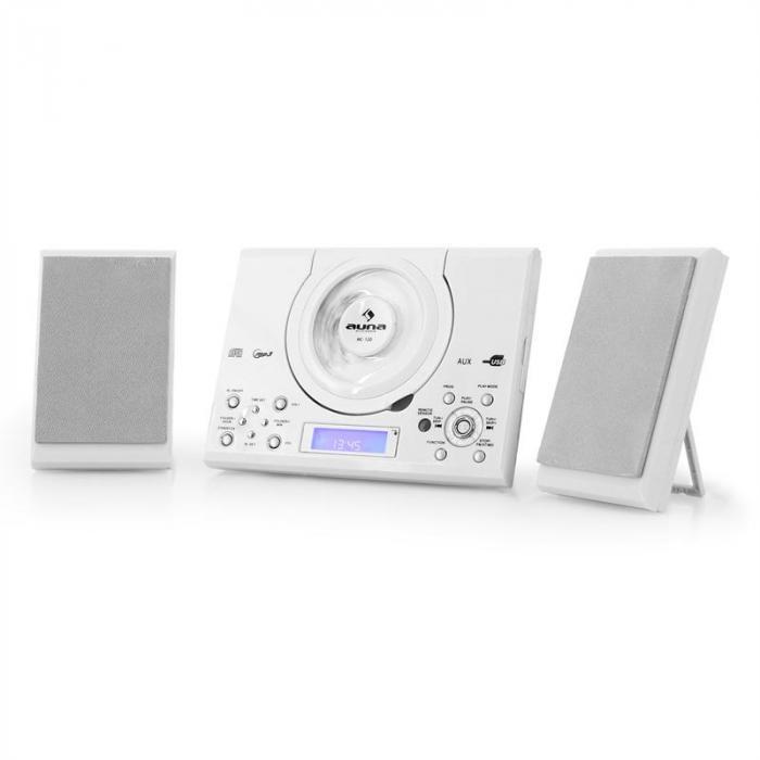 mc 120 miniwie a mp3 cd usb bia a bia y kup tanio. Black Bedroom Furniture Sets. Home Design Ideas