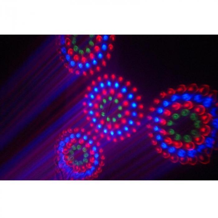 Revo 12 Burst Pro LED-valaisin RGB DMX seinäkiinnitys