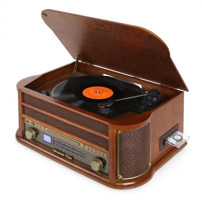 belle epoque 1908 retro vintage stereo turntable vinyl fm. Black Bedroom Furniture Sets. Home Design Ideas