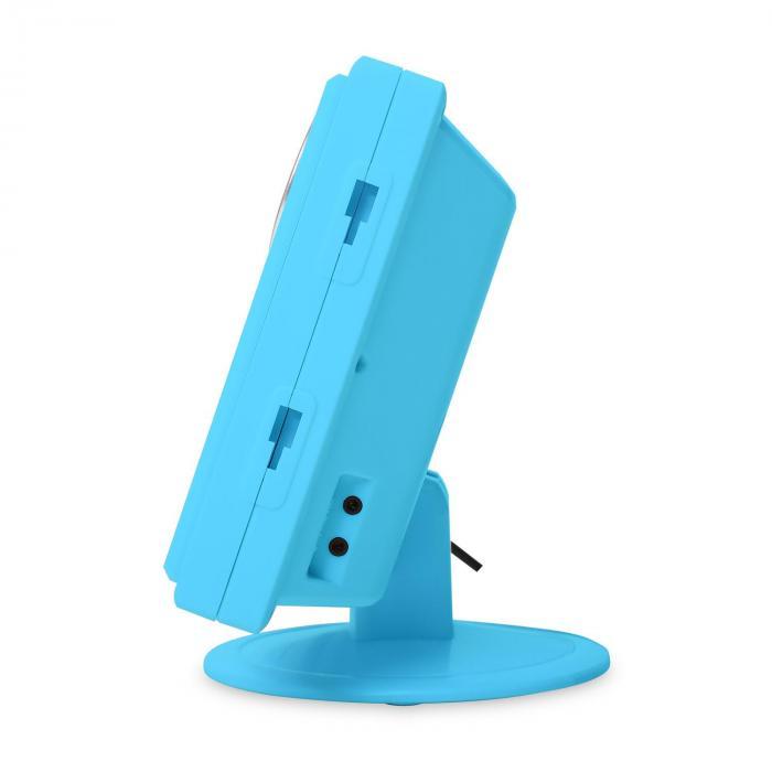 V-12 impianto stereo lettore CD-MP3 azzurro