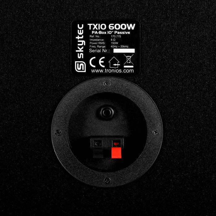 """TX10 Coppia casse passive 25cm (10"""") 150W RMS"""
