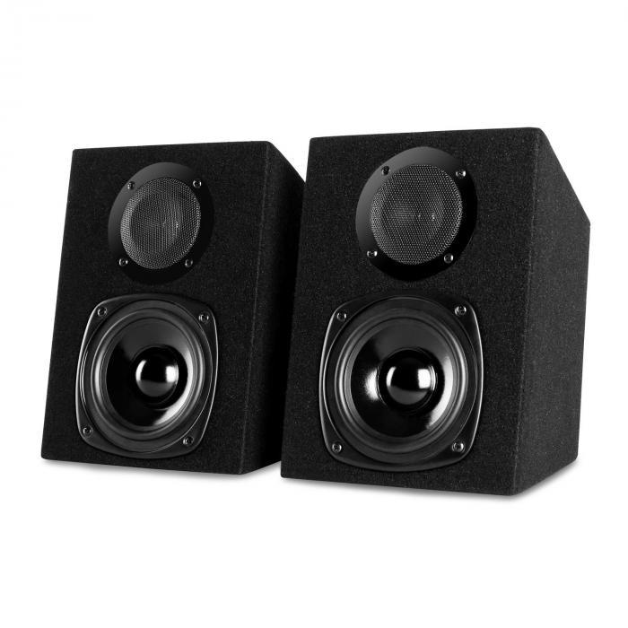 Karaoke 'EQ Sing' PA System Amplifier Speakers Mic Set