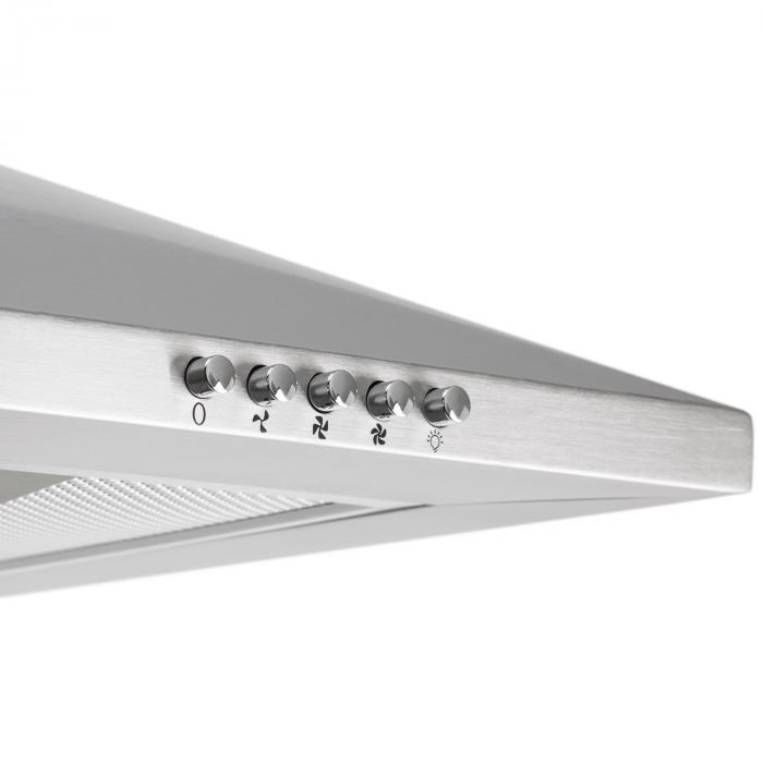 TR60WS Filter 2 cappa da cucina 60cm acciaio 310 m³/h Classe e