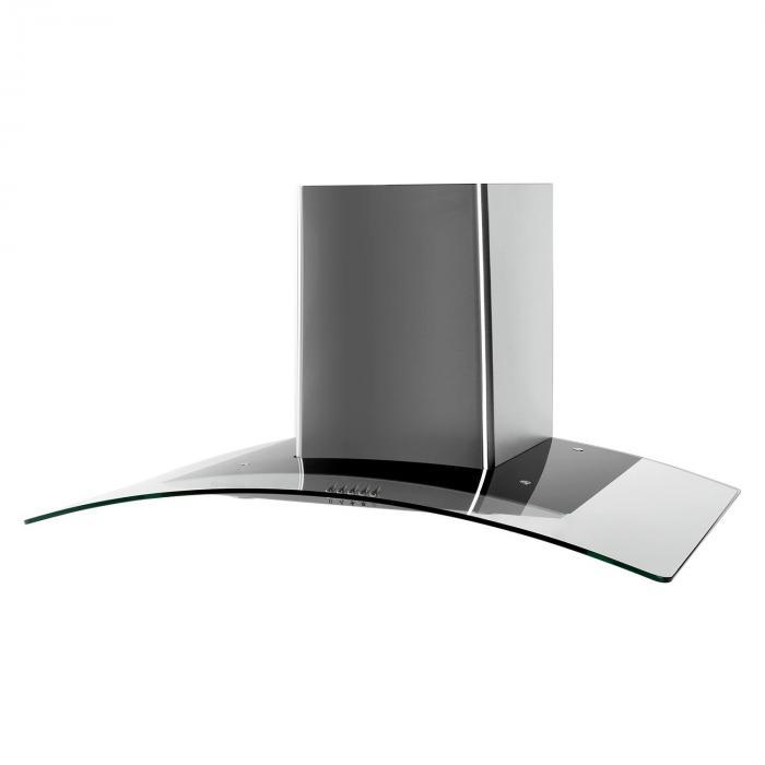 GL90WS cappa aspirante 90cm acciaio inox 400m³/h Classe E