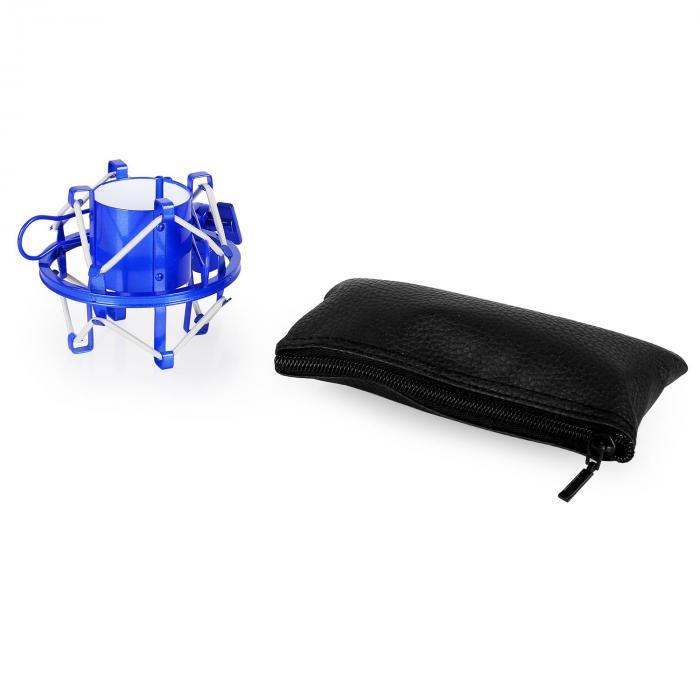 CM001BG Micrófono condensador de estudio XLR azul/oro