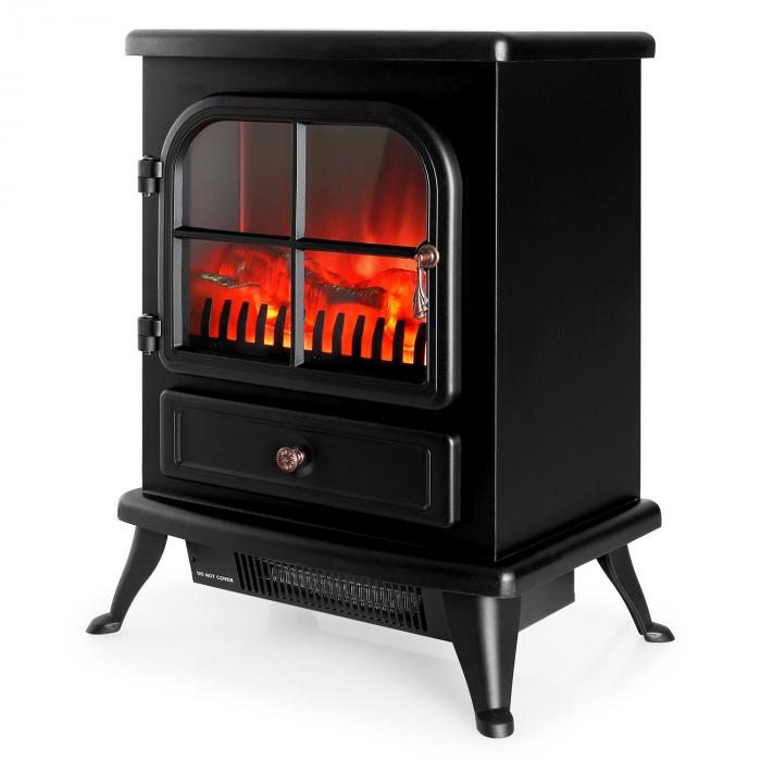 St. Moritz Electric Fireplace Heater 1800W