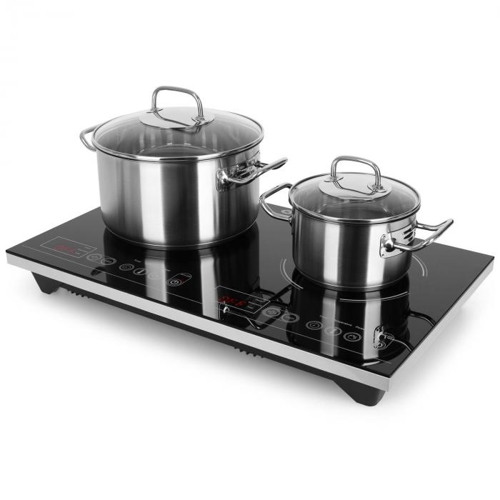 VariCook XL Double Induction Hot Plate 3100W Timer 240°C Touch