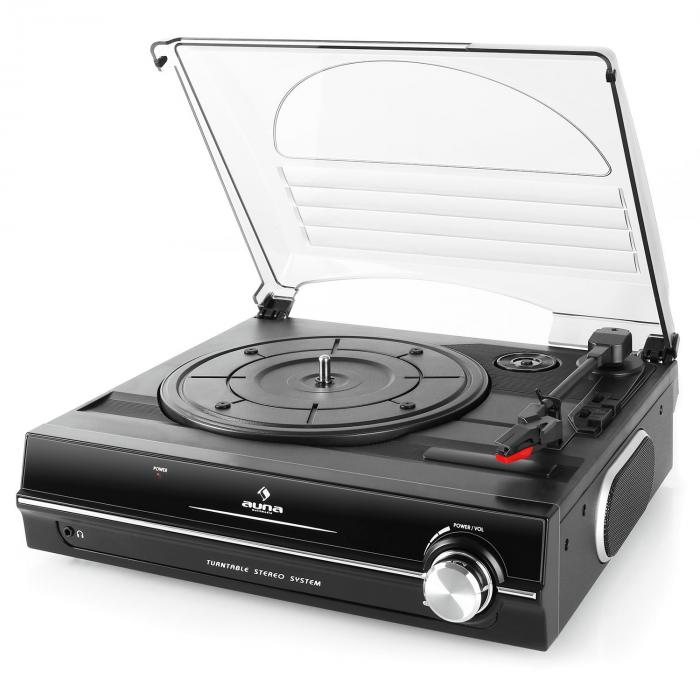928 Turntable Record Player with Intregrated Speakers