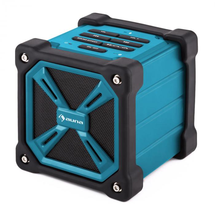 TRK-861 Enceinte Bluetooth mobile batterie -bleue