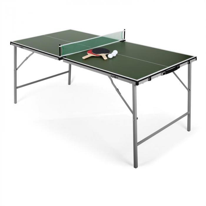 mini table de ping pong pliable verte vert electronic. Black Bedroom Furniture Sets. Home Design Ideas