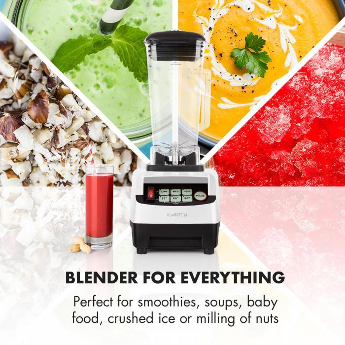 Herakles 5G Kitano Set de batidora de vaso y cuchillos 1500W Sin BPA 2l / 7 cuchillos