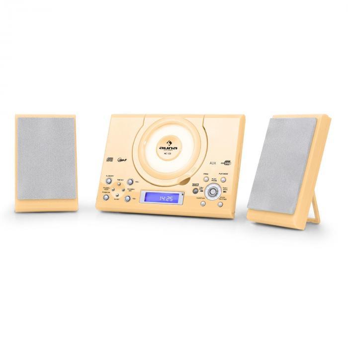 MC-120 Stereo CD MP3 USBWall Mounted Cream
