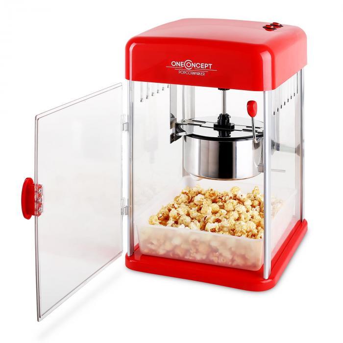 Rockkorn popcorn-kone 350W pyörivä 23,5 x 38,5 x 27cm