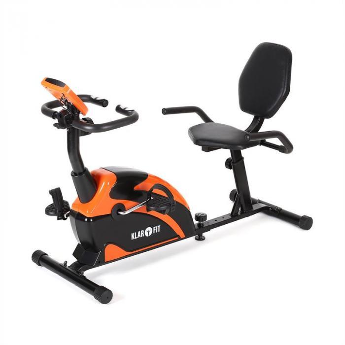 Relaxbike 5G ergometri rekumbenttipyörä 100 kg max. oranssi musta