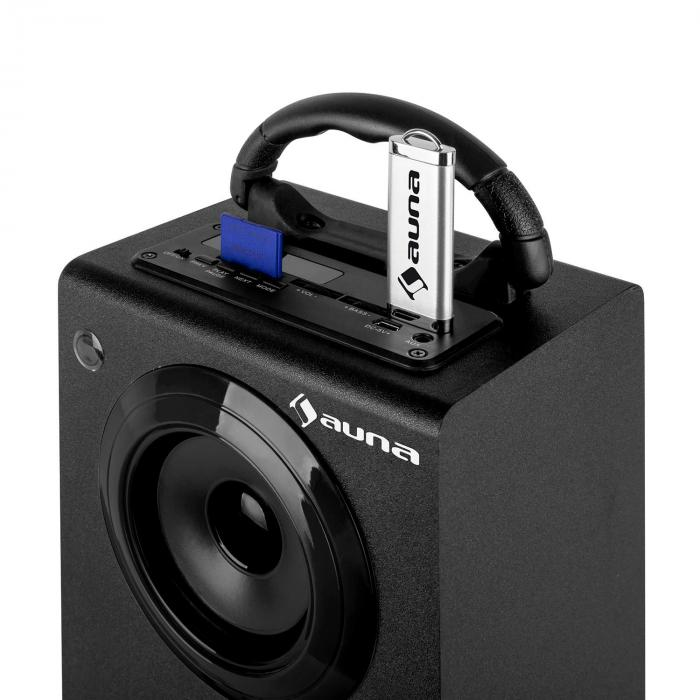 Beachboy XXL Bluetooth Speaker USB SD AUX FM Black