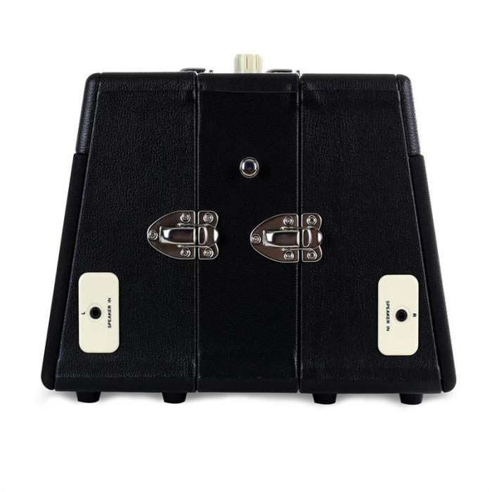 RT80 Vintage-platenspeler zwart AUX