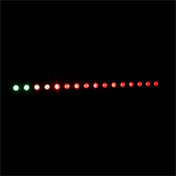 LCB-48IP LED-valoefektinauha 60W vesitiivis DMX