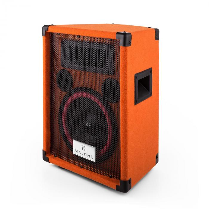 "Beatamine-C PA-kaiutinpari 20cm 8"" 150W RMS 300W max. orange"