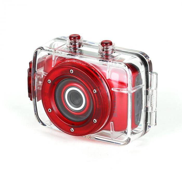 Cam 20 wasserdichte Sportkamera 3 MP HD USB microSD