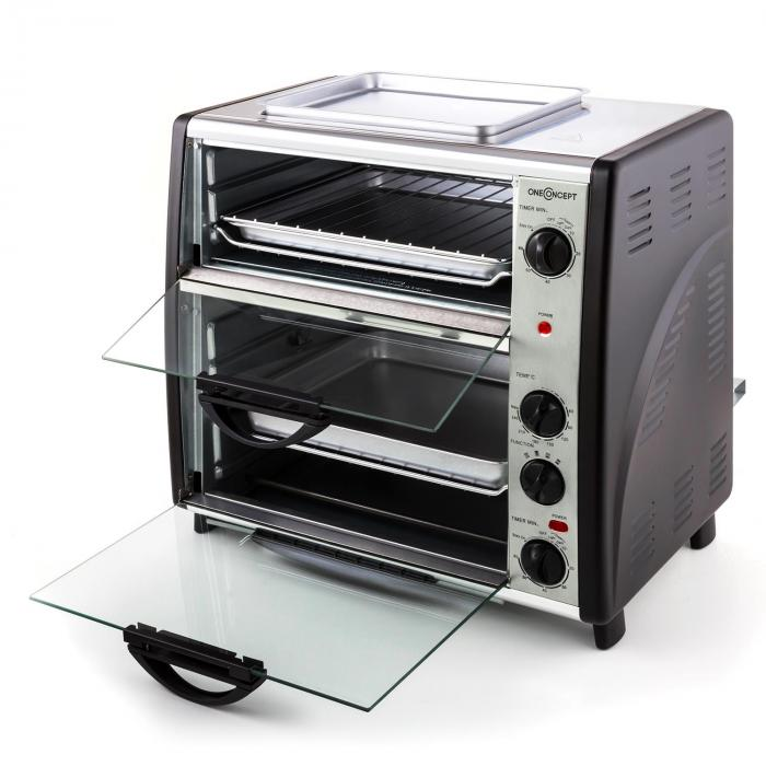 All-You-Can-Eat tuplauuni, jossa grillilevy 42 litraa 2400 Watt