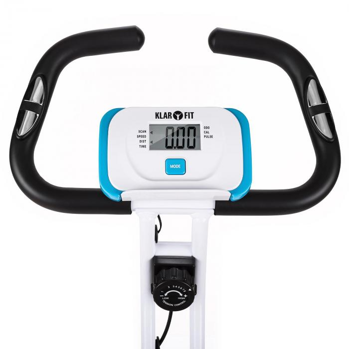 Azura Training Exercise Bicycle Heart Rate Monitor Folding 100kg