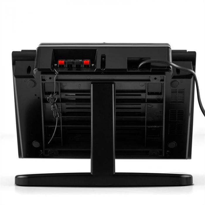 vertical 80 stereoanlage cd usb mp3 aux schwarz online kaufen elektronik star de. Black Bedroom Furniture Sets. Home Design Ideas