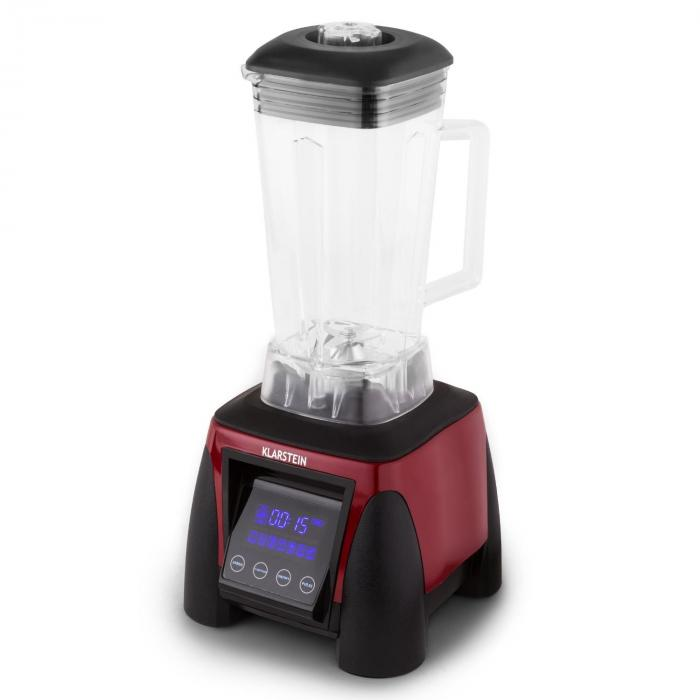 Herakles 8G Standmixer Rot mit Cover 1800W 2,4 PS 2 Liter BPA-frei