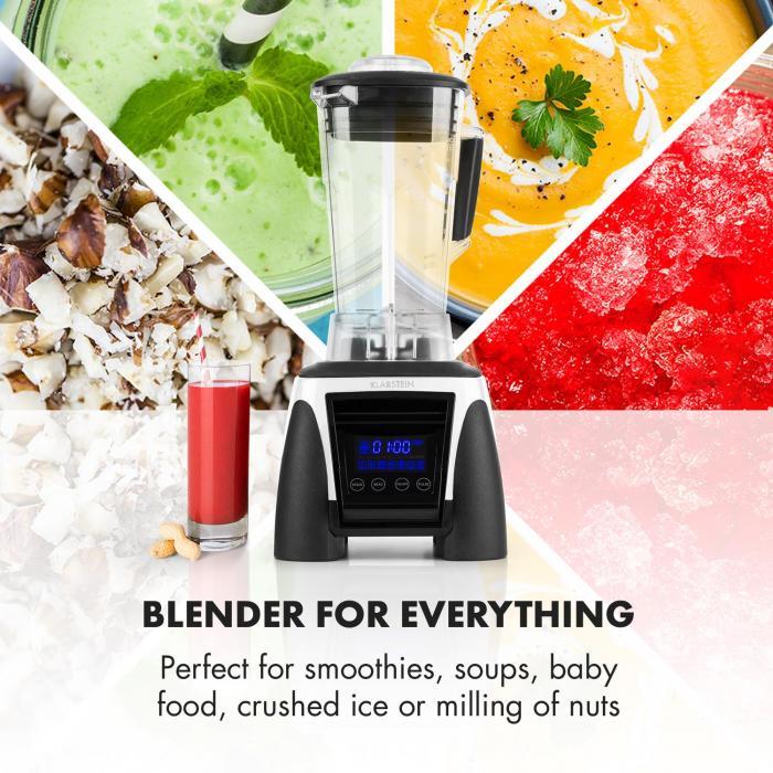 Herakles 8G Kitano Power-Mixer-Messer-Set 1800W BPA-frei 2l / 7 Messer