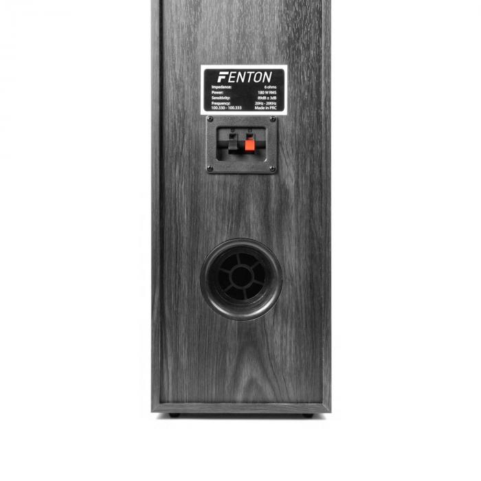 5.0 hemmabio-system 335W RMS svart