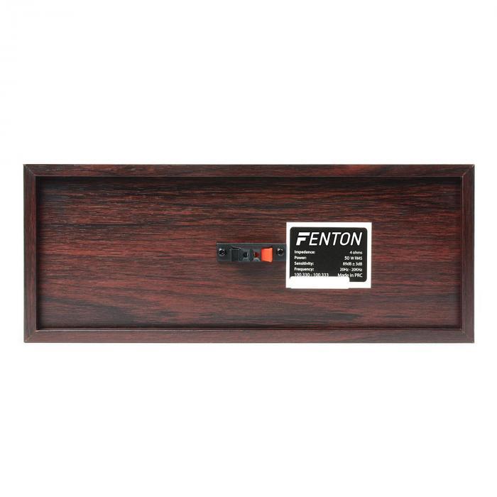 Sistema de cine en casa 5.0 acabado madera nogal 335W RMS