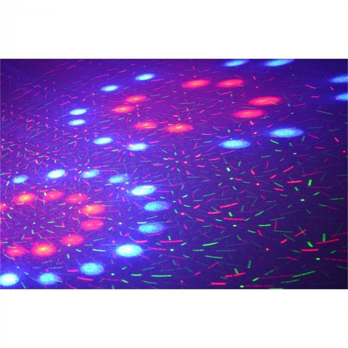 Light Package 3 Disco-Effektset LichteffektmaschineLaser Nebelmaschine