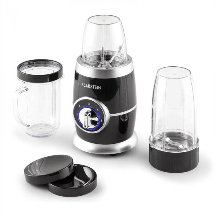 Juicinho Nero tehosekoitin smoothiekone compact blender 220W 8-osainen